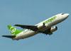 Boeing 737-36N, PR-WJU, da Webjet. (22/03/2012)