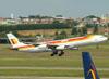 Airbus A340-313, EC-KOU, da Iberia. (22/03/2012)