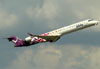 Canadair CL-600-2D24 Regional Jet CRJ-900LR, CX-CRD, da Pluna. (22/03/2012)