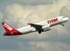 Airbus A320-232, PR-MAZ, da TAM. (22/03/2012)
