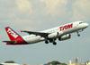 Airbus A320-232, PR-MBP, da TAM. (22/03/2012)