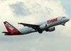 Airbus A320-214, PR-MHI, da TAM. (22/03/2012)