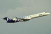 Canadair CL-600-2D24 Regional Jet CRJ-900LR, CX-CRK, da Pluna. (22/03/2012)