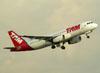Airbus A320-232, PR-MBQ, da TAM. (22/03/2012)
