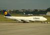 Boeing 747-430, D-ABTK, da Lufthansa. (22/03/2012)