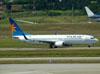 Boeing 737-8AS, PR-VBC, da Varig (GOL). (22/03/2012)
