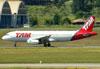 Airbus A320-232, PT-MZU, da TAM. (22/03/2012)