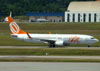 Boeing 737-8AS, PR-VBA, da GOL. (22/03/2012)