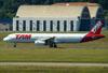 Airbus A321-231, PT-MXD, da TAM. (22/03/2012)
