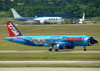 Airbus A320-231, PT-MZN, da TAM. (22/03/2012)