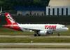 Airbus A319-132, PT-TMA, da TAM. (22/03/2012)