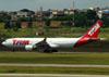 Airbus A330-223, PT-MVA, da TAM. (22/03/2012)
