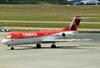 Fokker 100 (F28MK0100), PR-OAQ, da Avianca Brasil. (22/03/2012)