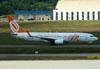 Boeing 737-8EH, PR-GGD, da GOL. (22/03/2012)