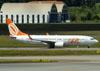 Boeing 737-8EH, PR-GTQ, da GOL. (22/03/2012)
