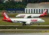 Airbus A320-232, PR-MAR, da TAM. (22/03/2012)