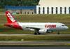 Airbus A319-132, PR-MAN, da TAM. (22/03/2012)