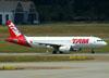 Airbus A320-232, PR-MBD, da TAM. (22/03/2012)