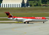 Fokker 100 (F28MK0100), PR-OAD, da Avianca Brasil. (22/03/2012)