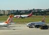 Airbus A330-223, PT-MVT, da TAM. (22/03/2012)
