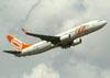 Boeing 737-8Q8, PR-GIX, da GOL. (22/03/2012)