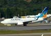 Boeing 737-73A, PR-VBZ, da Varig. (23/06/2009)