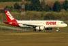 Airbus A320-232, PR-MBG, da TAM. (23/06/2009)