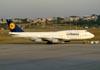 Boeing 747-430, D-ABVR, da Lufthansa. (23/06/2009)