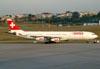 Airbus A340-313X, HB-JMC, da Swiss. (23/06/2009)