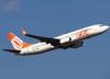 Boeing 737-8EH, PR-GTA, da GOL. (26/07/2012)