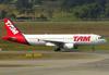 Airbus A320-214, PR-MHU, da TAM. (26/07/2012)