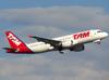 Airbus A320-214, PR-MYS, da TAM. (26/07/2012)