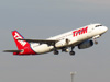 Airbus A320-232, PR-MBX, da TAM. (26/07/2012)