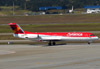 Fokker 100 (F28MK0100), PR-OAI, da Avianca Brasil. (26/07/2012)
