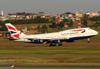 Boeing 747-436, G-BYGB, da British Airways. (26/07/2012)