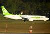 Boeing 737-8EH, PR-GGT, da Webjet. (26/07/2012)