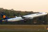 Airbus A340-313X, D-AIGU, da Lufthansa. (26/07/2012)