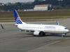 Boeing 737-86N, HP-1824CMP, da Copa Airlines, taxiando no aeroporto de Cumbica, em Guarulhos. (26/07/2012)