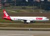 Airbus A321-231, PT-MXB, da TAM. (26/07/2012)