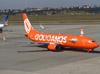 Boeing 737-8EH, PR-GTF, da GOL. (26/07/2012)
