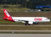 Airbus A320-214, PR-MHR, da TAM. (26/07/2012)