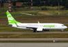 Boeing 737-8EH, PR-GTI, da Webjet. (26/07/2012)