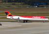 Fokker 100 (F28MK0100), PR-OAJ, da Avianca Brasil. (26/07/2012)