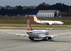 Boeing 737-75B, PR-GOC, da GOL. (26/07/2012)