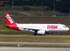 Airbus A320-232, PR-MBZ, da TAM. (26/07/2012)