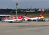 Fokker 100 (F28MK0100), PR-OAE, da Avianca Brasil. (26/07/2012)