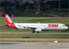 Airbus A321-231 (WL), PT-MXM, da TAM. (29/05/2014)