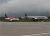 Boeing 777-2DZLR, A7-BBE, da Qatar Airways. (31/03/2014)