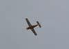 Beagle B-121 Pup 150 series 2, PT-JZV, do Brigadeiro Fernando César sobrevoando São Carlos. (08/01/07)