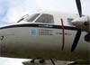 Embraer EMB-110 Bandeirante (C-95), FAB 2187, da FAB (Força Aérea Brasileira), exposto em Bauru (SP)